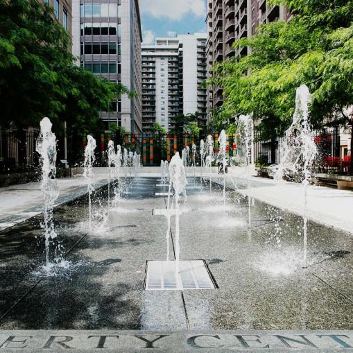Liberty Center Fountain